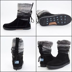 TOMS Nepal style boots size 8